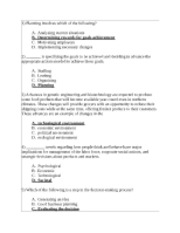 management 230 final exam answers Why buy final exam answers from accnerd every exam study guide is reviewed quarterly for accuracy and relevancy, so you know you're paying for fresh new mater.