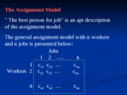 L23_Assignment Problems - Hungarian Algorithm