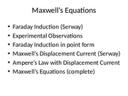Engr302 - Lecture 8 - Maxwell's Equations.pptx