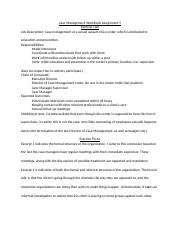 Case Management Workbook Assignment 5