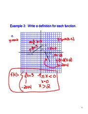 Writing Equations for Piecewise Functions