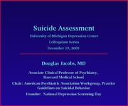 StopASuicide_DJacobs_SuicideAssessment_slides