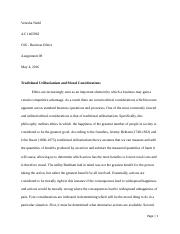 Business Ethics - C06I Assignment 8.docx