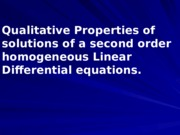 08 Properties of Solutions