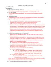 HISTORY 2111 EXAM 1 STUDY GUIDE.docx