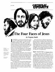 Four Faces of Jesus