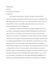 _The Pupil_ Essay