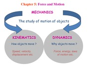 Lecture notes-3 Force and Motion