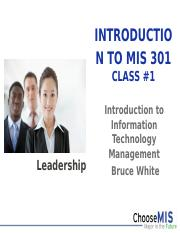 Class 01 - Introduction MIS 301-1.pptx