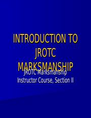 2.1-Introduction to JROTC Marksmanship