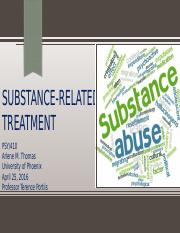 Substance-related treatment