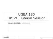 UGBA+180+-+HP12C+Tutorial+-+1+31+2011