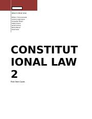 Constitutional Law Cases.docx