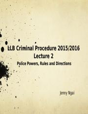 Lecture 2 Police Powers  RD (Sem2).pptx