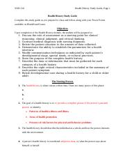 Health History Study Guide-1.doc