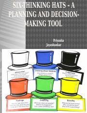 2017-Six-thinking hats – a planning and decision-making tool