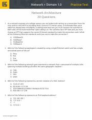 Network+ Practice Test - Domain 1.pdf