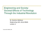 ENGR_183_W08_04 - Technology to the Industrial Revolution