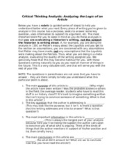 hollitz essay Start studying chapter 3, thinking through the past learn vocabulary, terms, and more with flashcards, games, and other study tools.