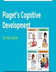Piaget's Cognitive Development Toy Assignment - Alexandra Cashen