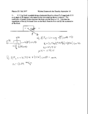 Written Homework 4 Solutions