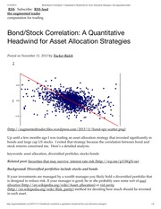 Bond_Stock Correlation_ A Quantitative Headwind for Asset Allocation Strategies _ the augmented trad