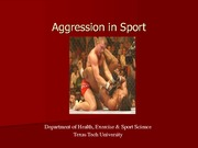 ESS 3318 - Aggression