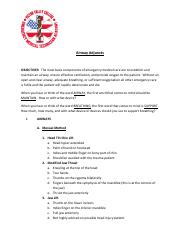 Airway Adjunct Handout  SP2014