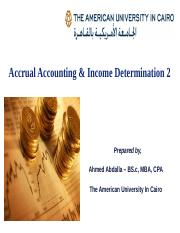 Accrual Accounting & Income determination 2.ppt