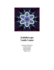 Rec. Report -- Kalaidascope youth center