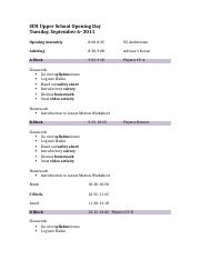 Opening Day Schedule & Lesson Plans 2011.docx