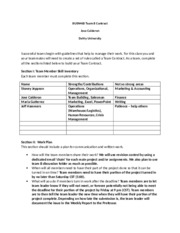 DeVry BUSN460 Team B Contract.docx
