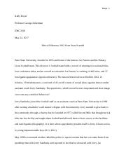 Business Ethics_2012 Penn State Scandal.docx
