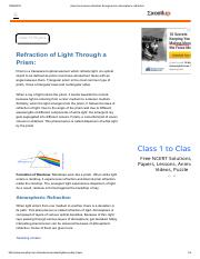class ten science refraction through prism atmospheric refraction.pdf