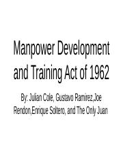 Manpower Development and Training Act of 1962.pptx