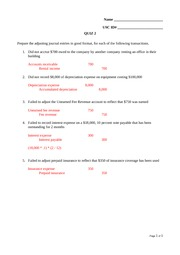 Quiz 2 Answers(2)