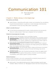 Communication101-notes