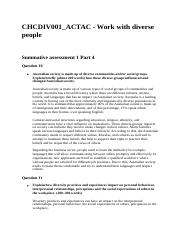 CHCDIV001 Summative assessment 1 Part 4.docx