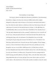 English Researched Essay