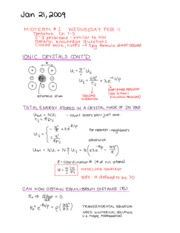 PHYS 474 LECTURE 8 NOTES