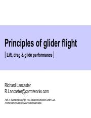 Glider Design Report - Glider Design Report The goal of this
