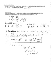 PHYS 408 Supplemental Midterm Answer Key