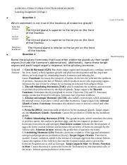 ALHS1011 Learning Assignment 5A Page 1.docx