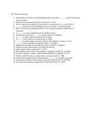 CEH CH 7 review questions