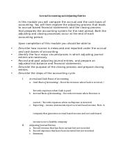 Accrual Accounting and Adjusting Entries Lecture Notes Student Version.docx