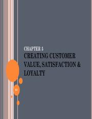 Customer Value and Relationships