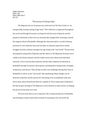 Coming of Age Analysis Essay Final Draft