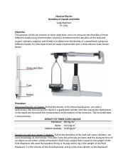 Densities of Liquids and Solids Lab Report.docx