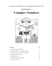Complex+numbers+MAM1021S+2015