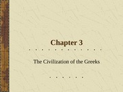 Chapter3_Lecture_Greek_Culture